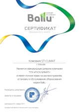 Тепловая завеса Ballu BHC-H20T36-PS купить в интернет-магазине недорого в Москве