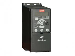 Частотный преобразователь Danfoss VLT Micro Drive FC 51 7,5 кВт (380 - 480, 3 фазы) купить недорого в Москве